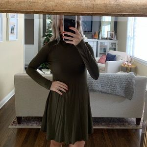 Lulus olive green dress